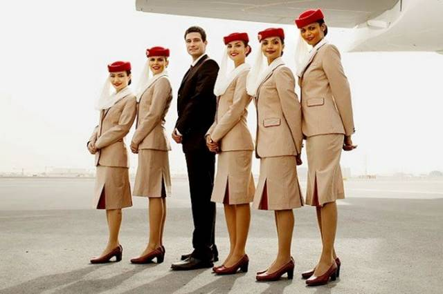03UnitedArabEmirates252CEmiratesAirlinesAirHostess - Air Hostess From Different Countries
