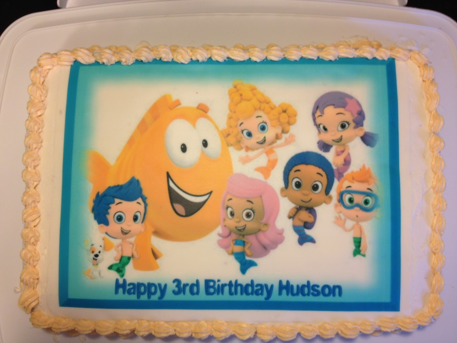 3 hungry boys bubble guppies birthday party