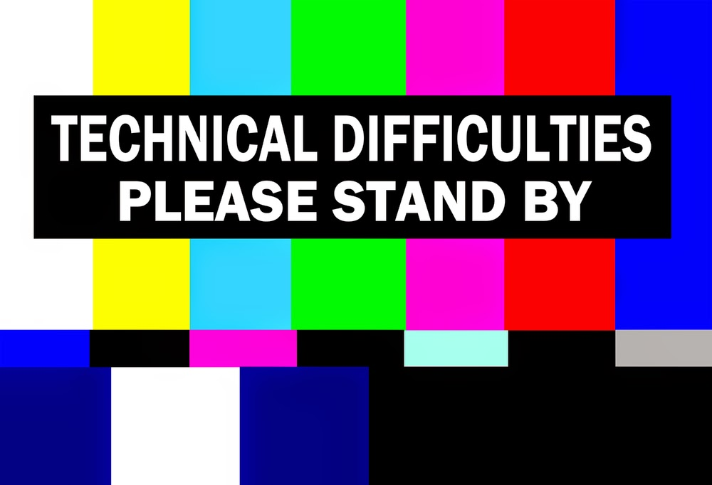 Technical Difficulties Please Stand By The Glitter Globe S. R. Karfelt