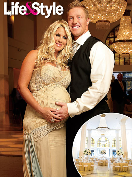 RHOA's Kim Zolciak Gives Us A Sneak Peek Into Her Babyshower!