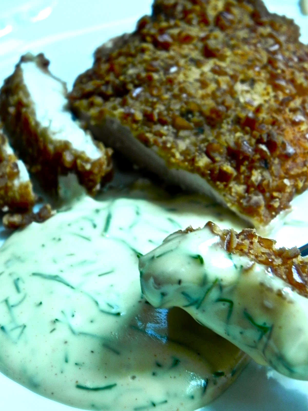 The Rosiest Cheeks: Pretzel Crusted Chicken Breast with ...