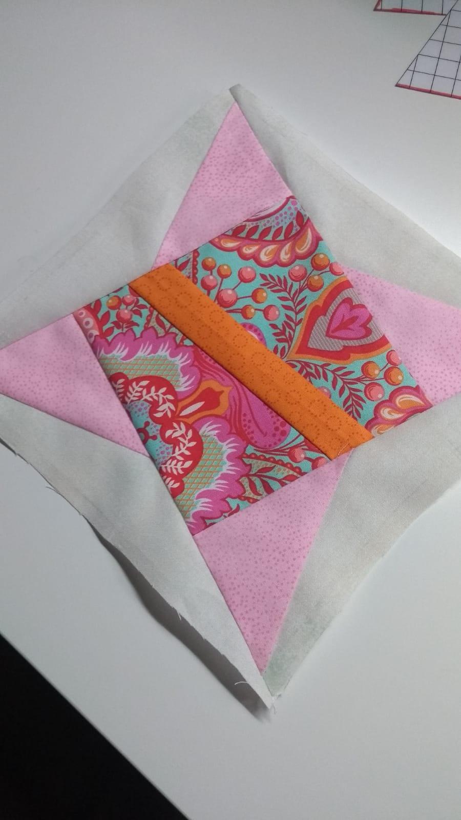 kom patchen op de naaimachine met Marina