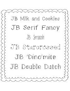 JB Fonts