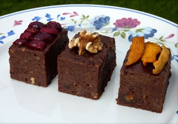 Raw Brownies « Vegan Recipes « Vegan Magic