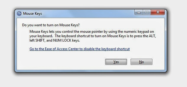 Use Keyboard as Mouse using Numeric Keypad [How to]