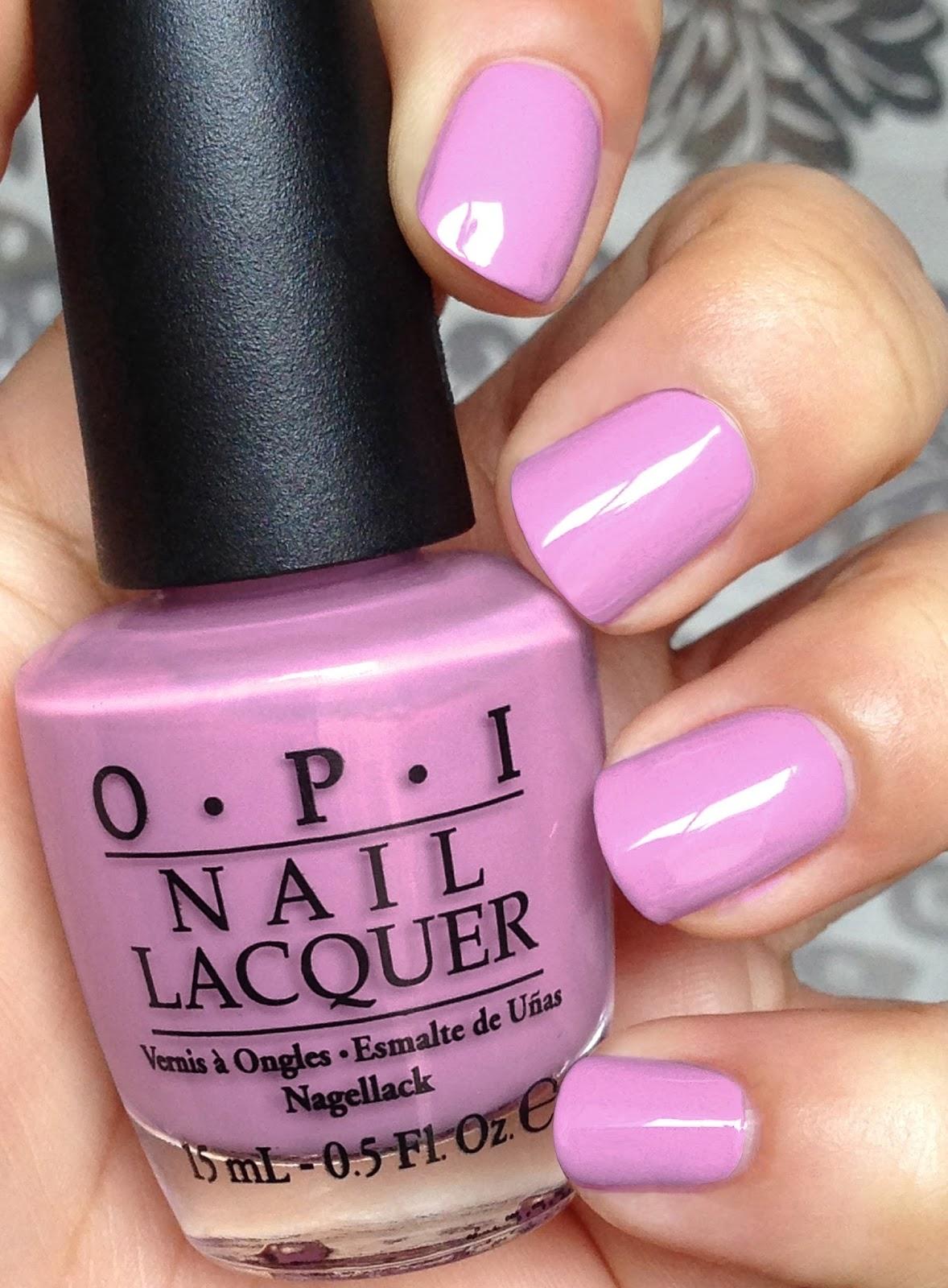 Opi Pink Purple Nail Polish | Best Nail Designs 2018