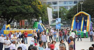 Reinauguração da Praça Olímpica de Teresópolis teve várias atividades