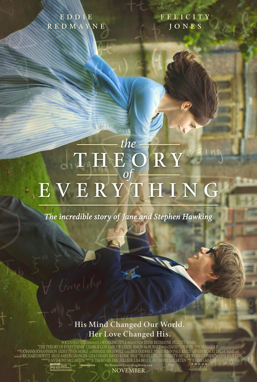 The Theory of Everything Theatrical Movie Poster