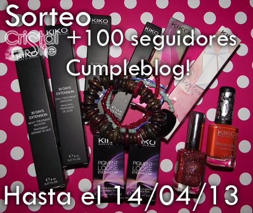 Sorteo +100 seguidores