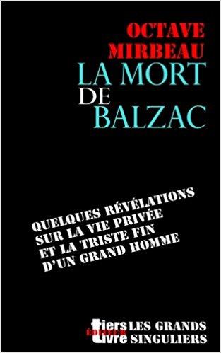 """La Mort de Balzac"", février 2017"