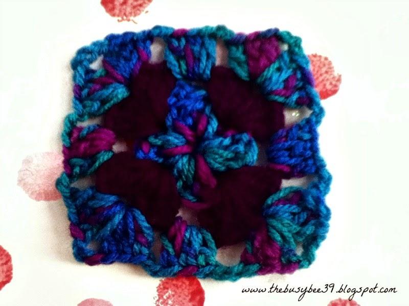 Simple-Crochet-Blanket-Step-3