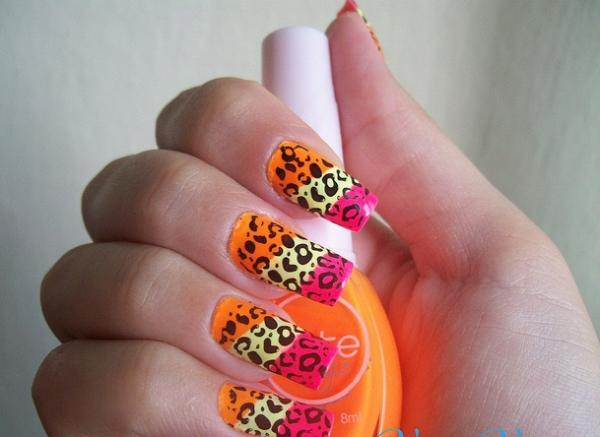 color full nail art design new nail art for leg www imgbook