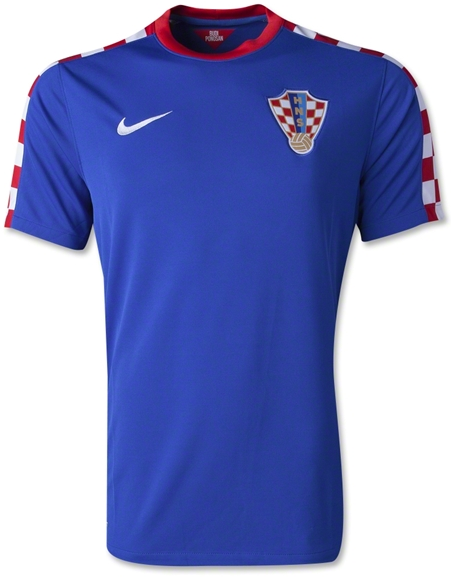 Jersey World Cup 2014 - Jersey Bola Croatia Away