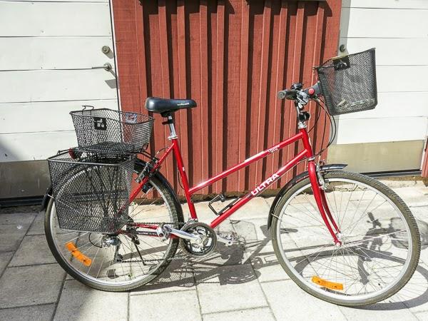 cykel, damcykel, ultra