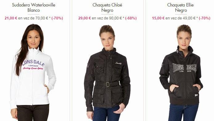 Sudadera y chaquetas