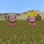 CubeBots More MobsInstant Massive Structures Pig Companion Minecraft 1.5.2/1.6