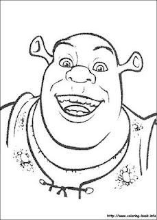Desenhos do Shrek para imprimir