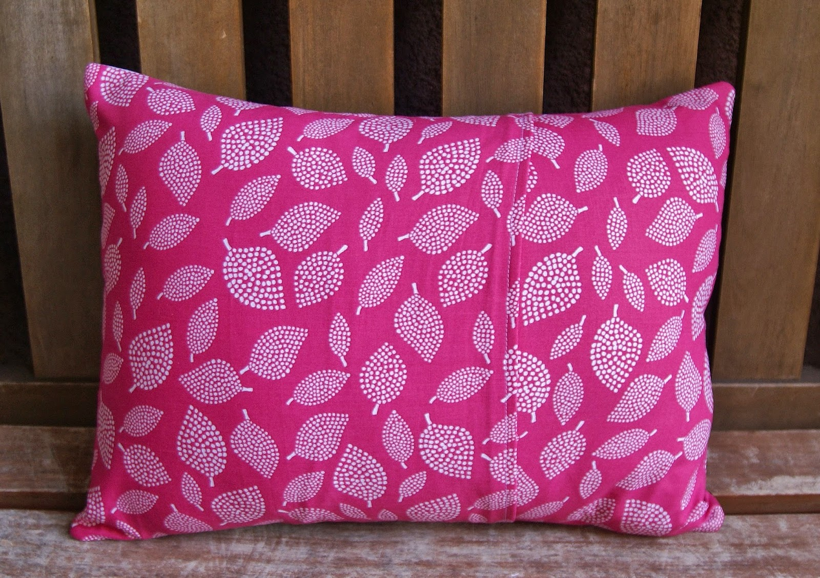 Zebra Interrupted Pillow by Heidi Staples for Quilt Now Magazine
