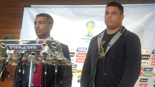 Romário y Ronaldo se unen en pro de los discapacitados