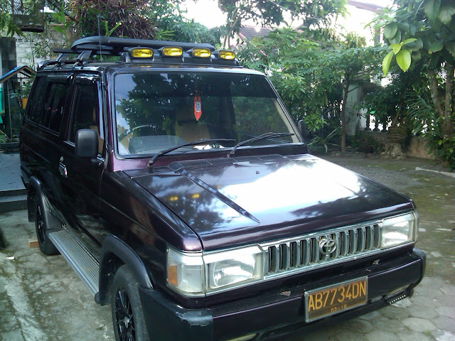 Kijang Super modifikasi hammer