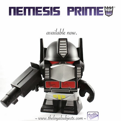 """Nemesis Prime"" Optimus Prime 8"" Transformers Vinyl Figure by The Loyal Subjects"