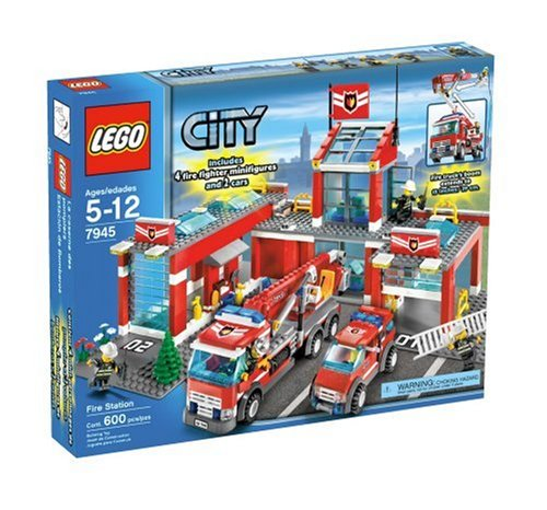 Lego City Fire Station 7945 Lego City Fire Station