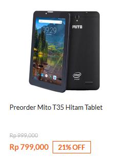 Preorder Mito T35 Black
