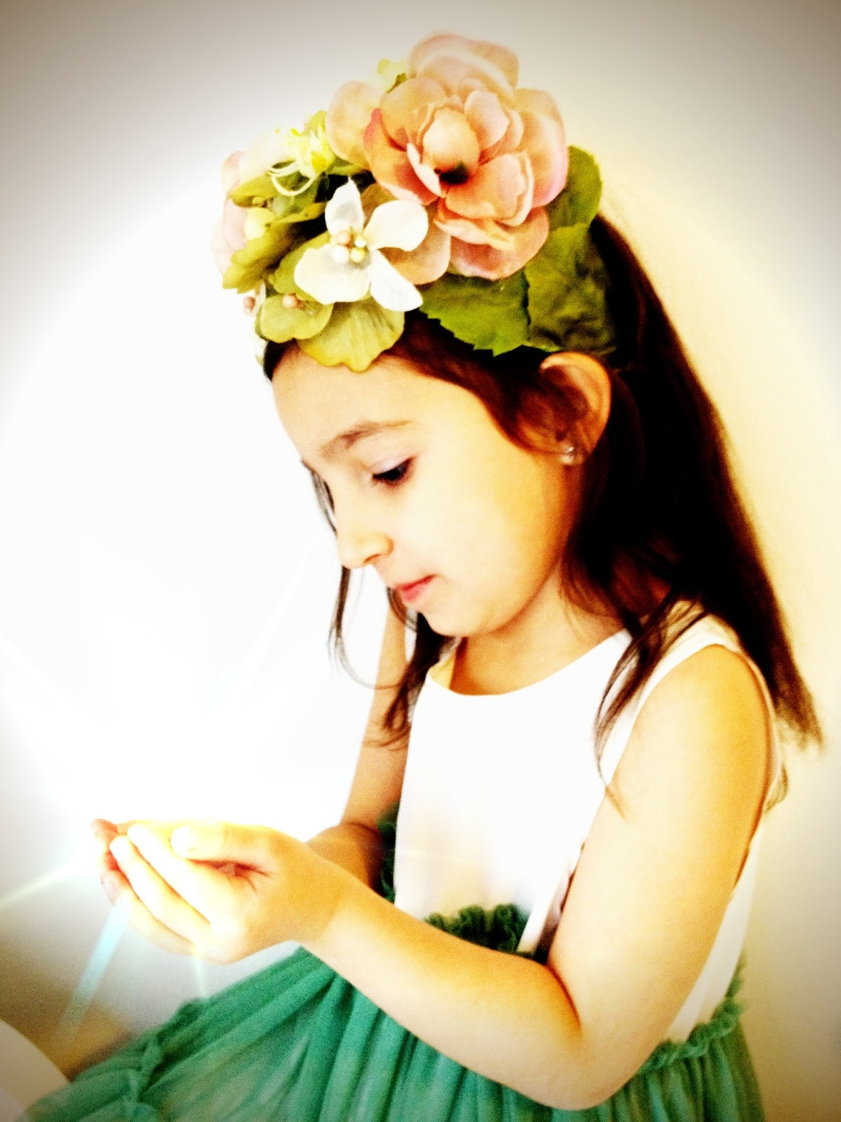 Flower Fairy Headbands DIY