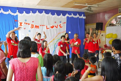 Trisha Sebastian| Project I am Love Outreach in Most Holy Rosary Church at Talanay-A Batasan, Q.C.