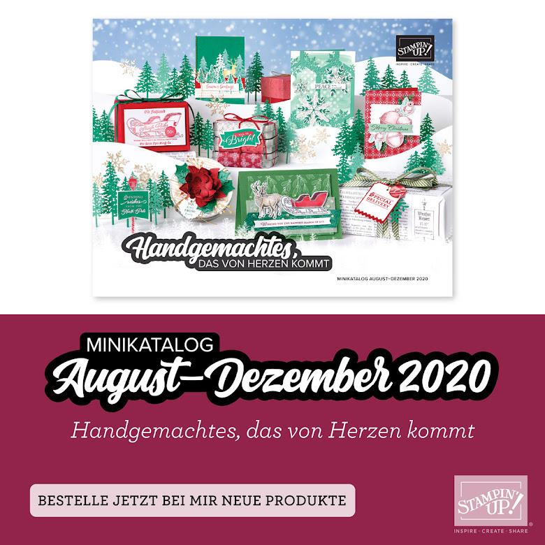Minikatalog August - Dezember 2020
