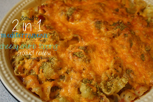 Schwartz 2 in 1 Mediterranean Chicken Pasta with Cheesy Crumb Topping Product Review