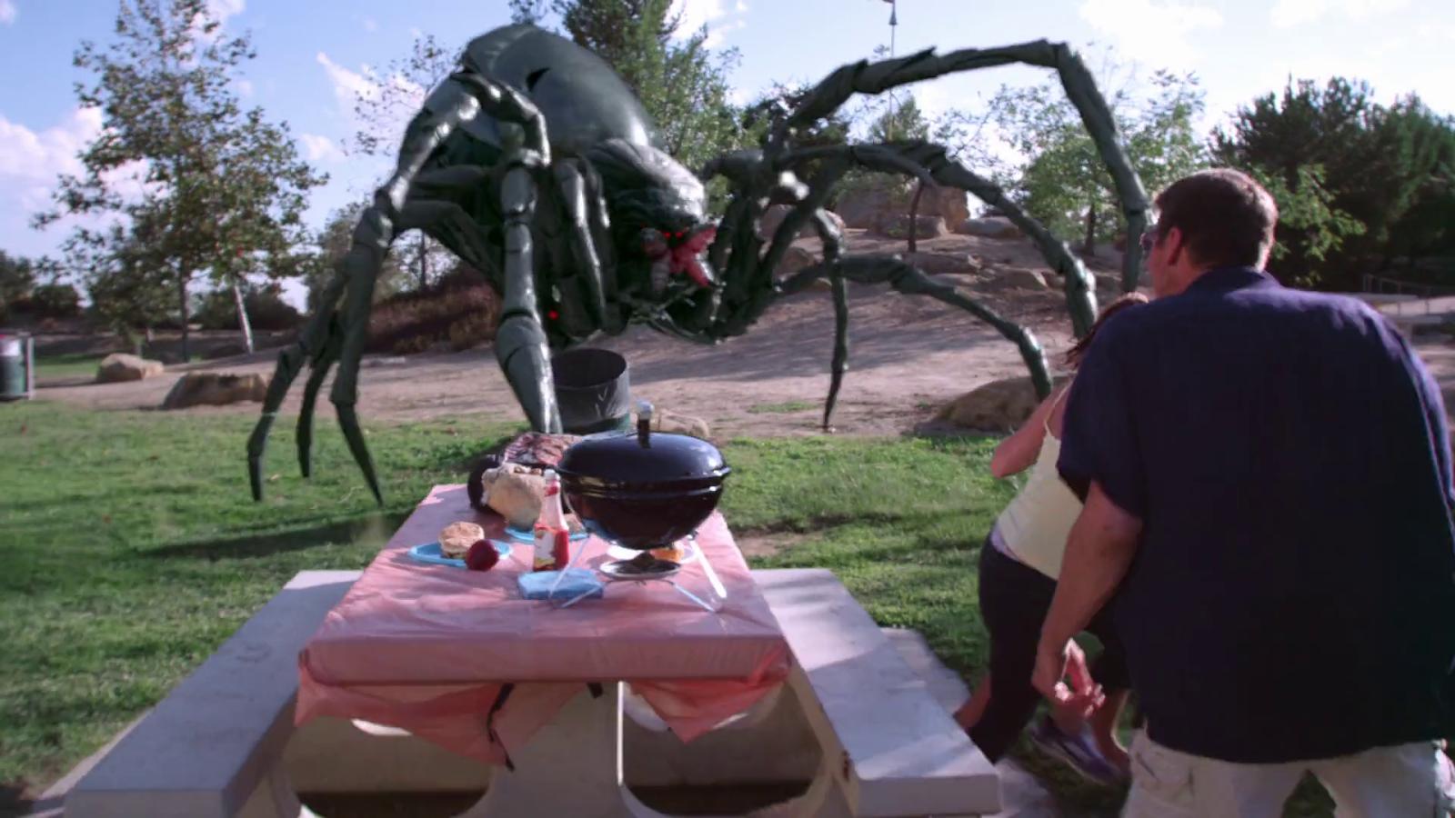 Big ass spider cast