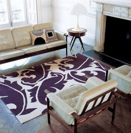 The bold and the beautiful successful rug placement for Living room rug placement