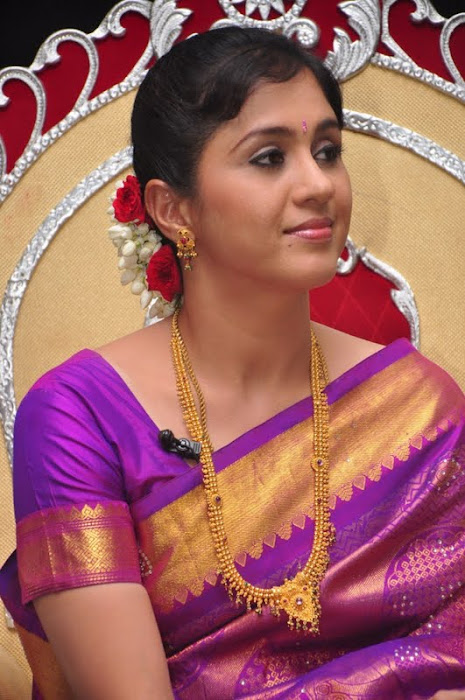 devayani new saree @ kodi mullai tv serial success meet