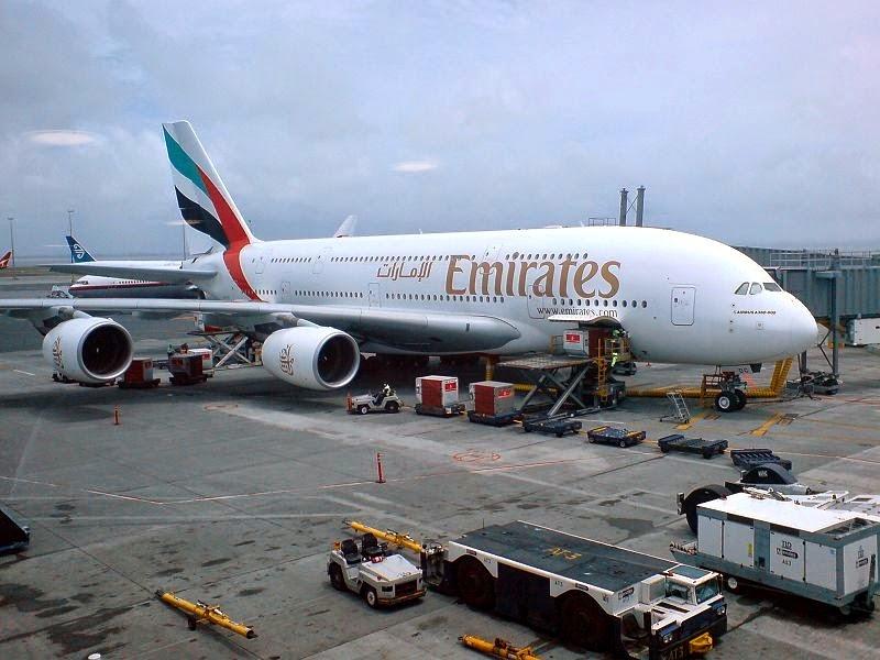 Pesawat Terbesar di Dunia ke-3 Airbus A380
