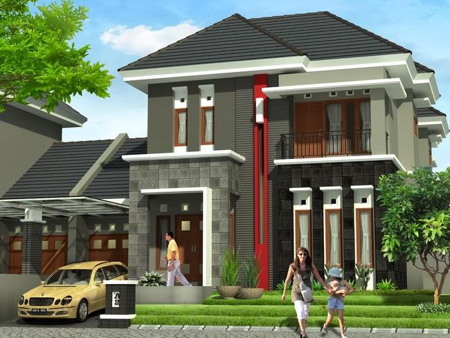 desain rumah minimalis tampak depan desain denah rumah