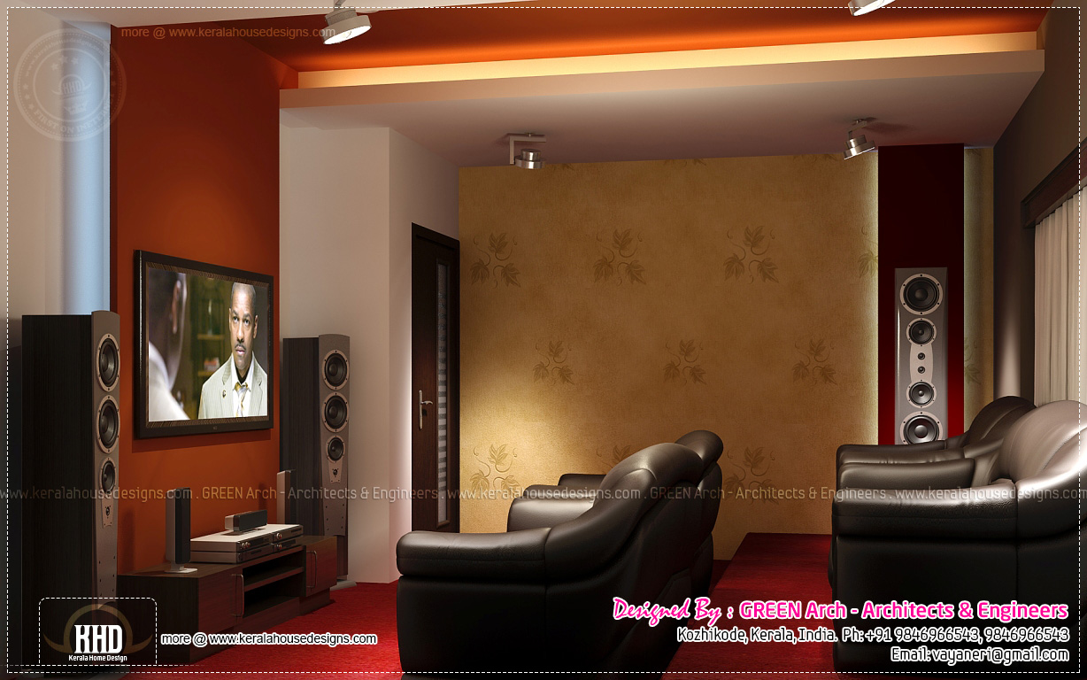 Beautiful Home Interior Designs By Green Arch Kerala Newbrough