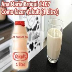 Como fazer yakult