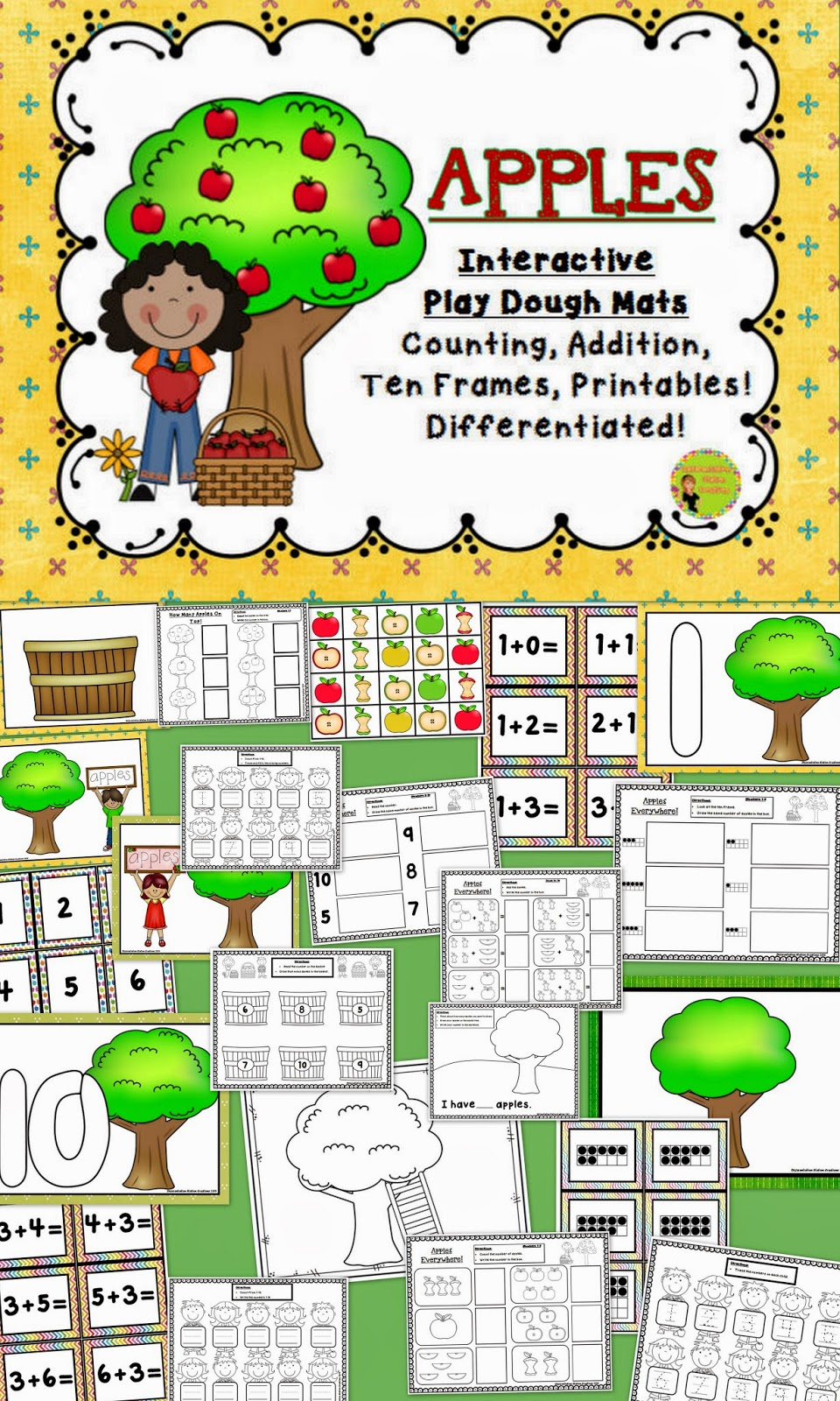 http://www.teacherspayteachers.com/Product/Apples-Interactive-Play-Dough-Mats-Counting-Centers-and-Games-Printables-1353686