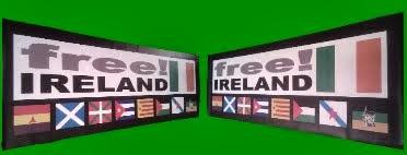 Pancarta Free Ireland 'Banderas' - 38€