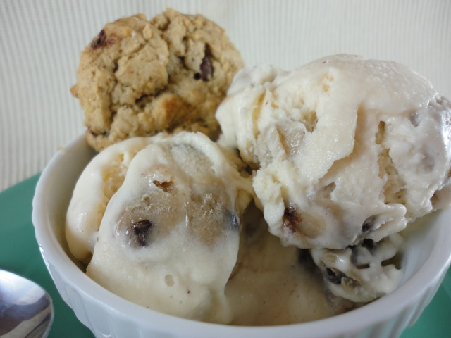 Eat Cake For Dinner: Homemade Chocolate Chip COOKIE DOUGH Ice Cream