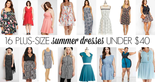 16 PLUS-SIZE SUMMER DRESSES UNDER $40 - The Militant Baker