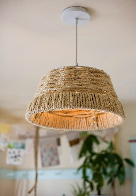 Mint, DIY Rope Lamp