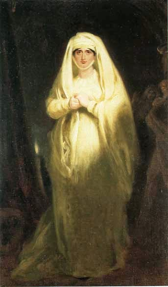 Sarah Siddons as Lady Macbeth by Henry George Harlow, 1814