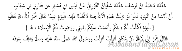 Quran Surat al Ma'idah ayat 3