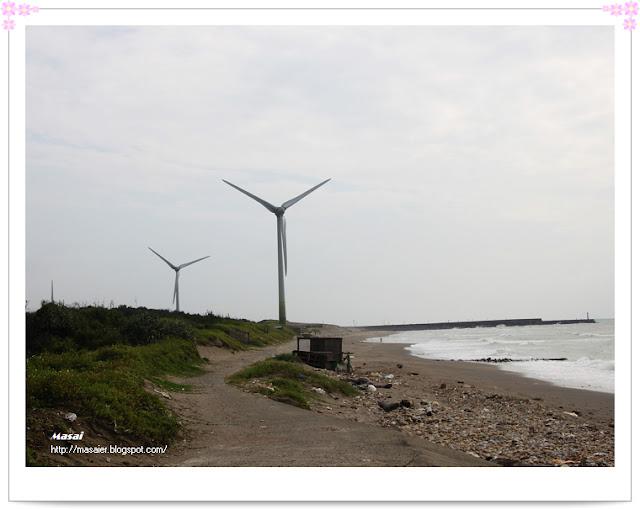 西濱海邊-風力發電-風車2