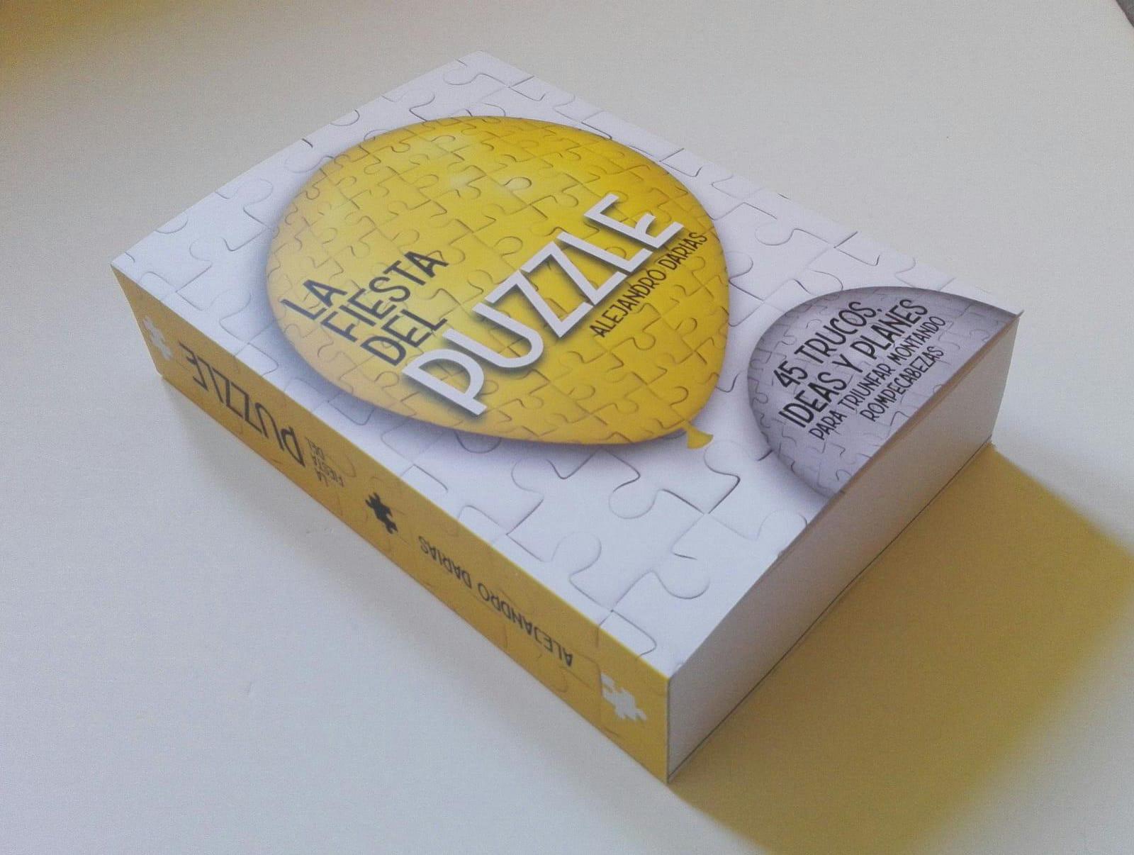 Único libro editado en idioma español sobre puzzles