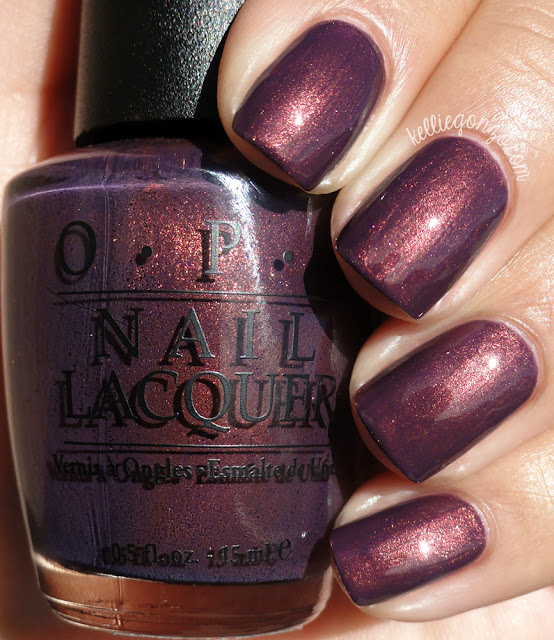OPI Peel Me a Gobi Grape