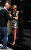 bee2 Beyonce radieuse dans les rues de New-York