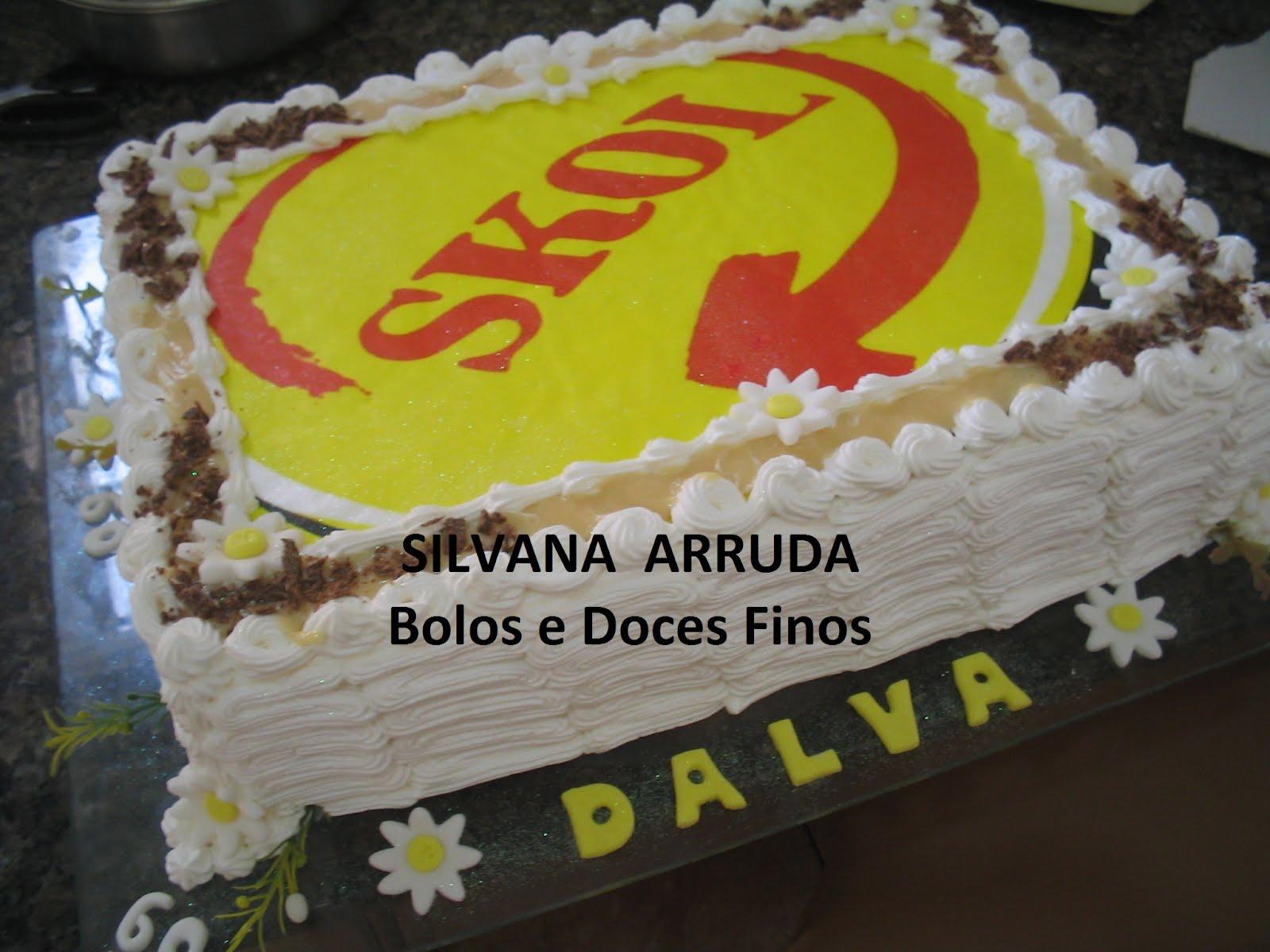 Extremamente SILVANA ARRUDA - BOLOS E DOCES FINOS WS06